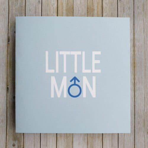 Little Man UK Garage Themed Greeting Card