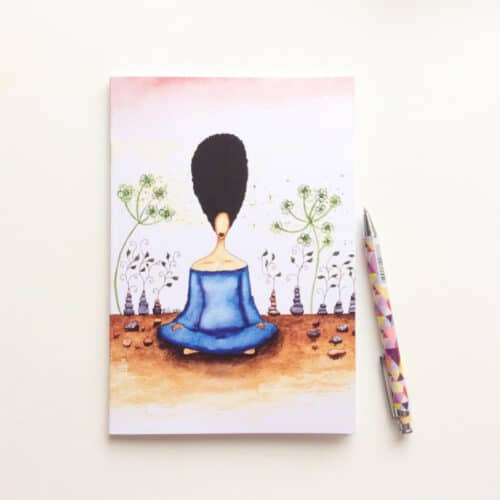 Needing Stillness Notebook by Stacey-Ann Cole