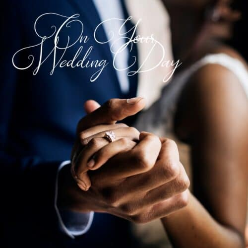 Black Wedding card by Nsaa Nefateri